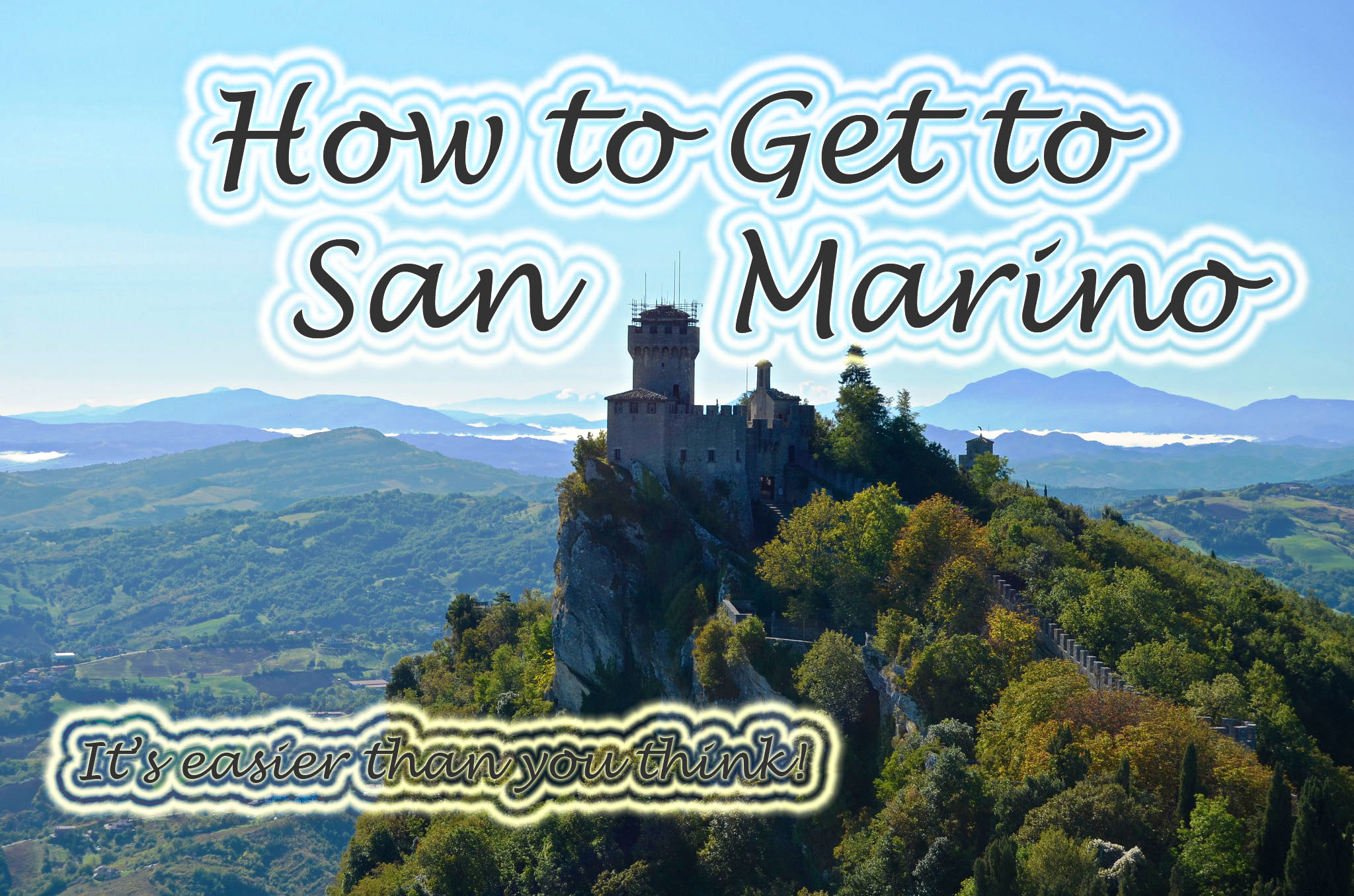 How to Get to San Marino- Inc. Rimini San Marino Bus Timetable