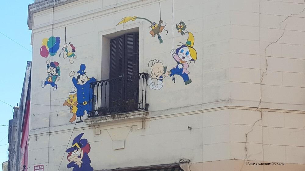 Mural En Buenos Aires Mafalda
